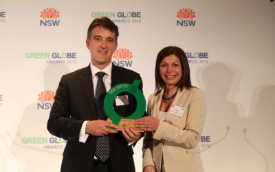 Watersave Australia's Founder Wins Green Globe Award