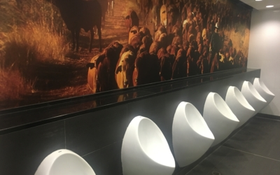 Uridan urinals installed at Brisbane International Airport