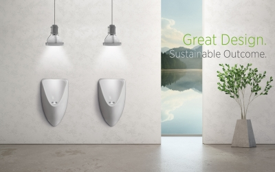 Re-imagining commercial bathrooms for water savings