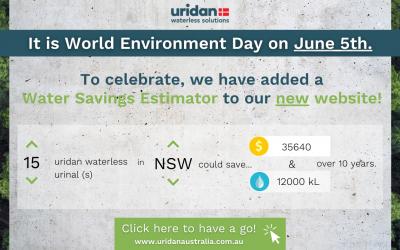 Uridan Celebrating World Environment Day with a Water-Savings Gift