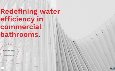 Uridan offering new CPD on water savings in commercial amenities